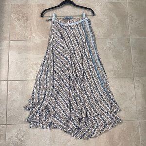 Free People Wrap Maxi Skirt